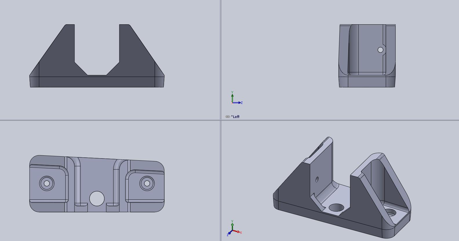 Car 3d Printed Rear View Camera Mount Eleccelerator