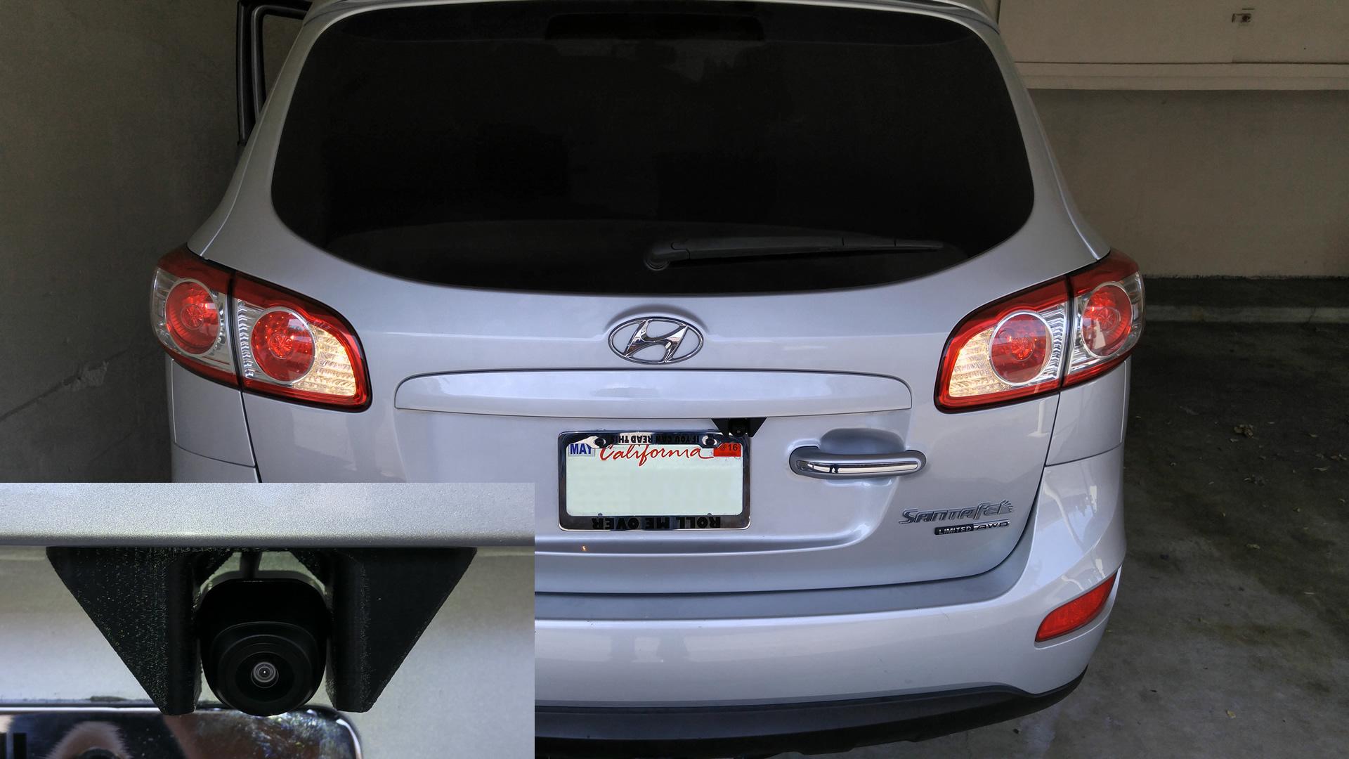 car 3d printed rear view camera mount eleccelerator. Black Bedroom Furniture Sets. Home Design Ideas