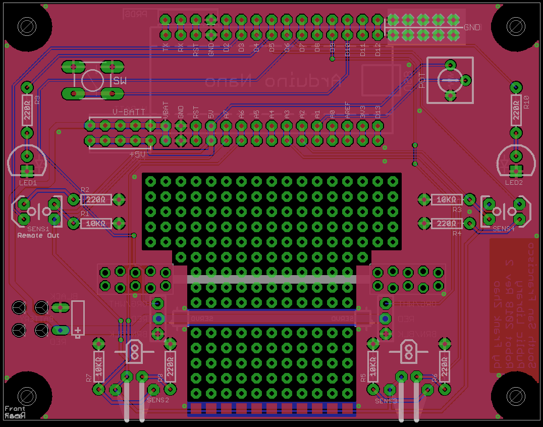 Our Robots Circuit Led Designer The Difficulty Of Designing A Pcb Varies Child Can Design That Only Has To Light Up When You Get Involved In High Speed As
