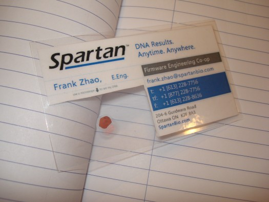 Bioscience business card eleccelerator cardonnotebookthumb1 reheart Images