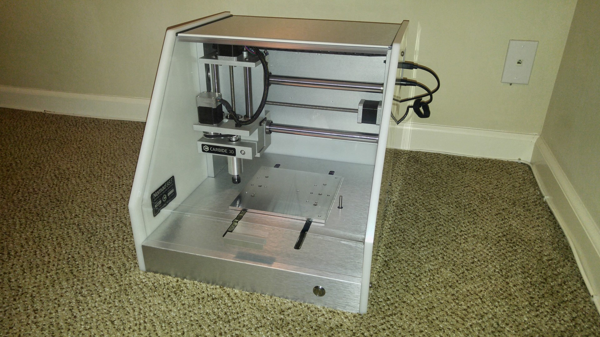 Nomad 883 Pro, my first CNC mill | Eleccelerator