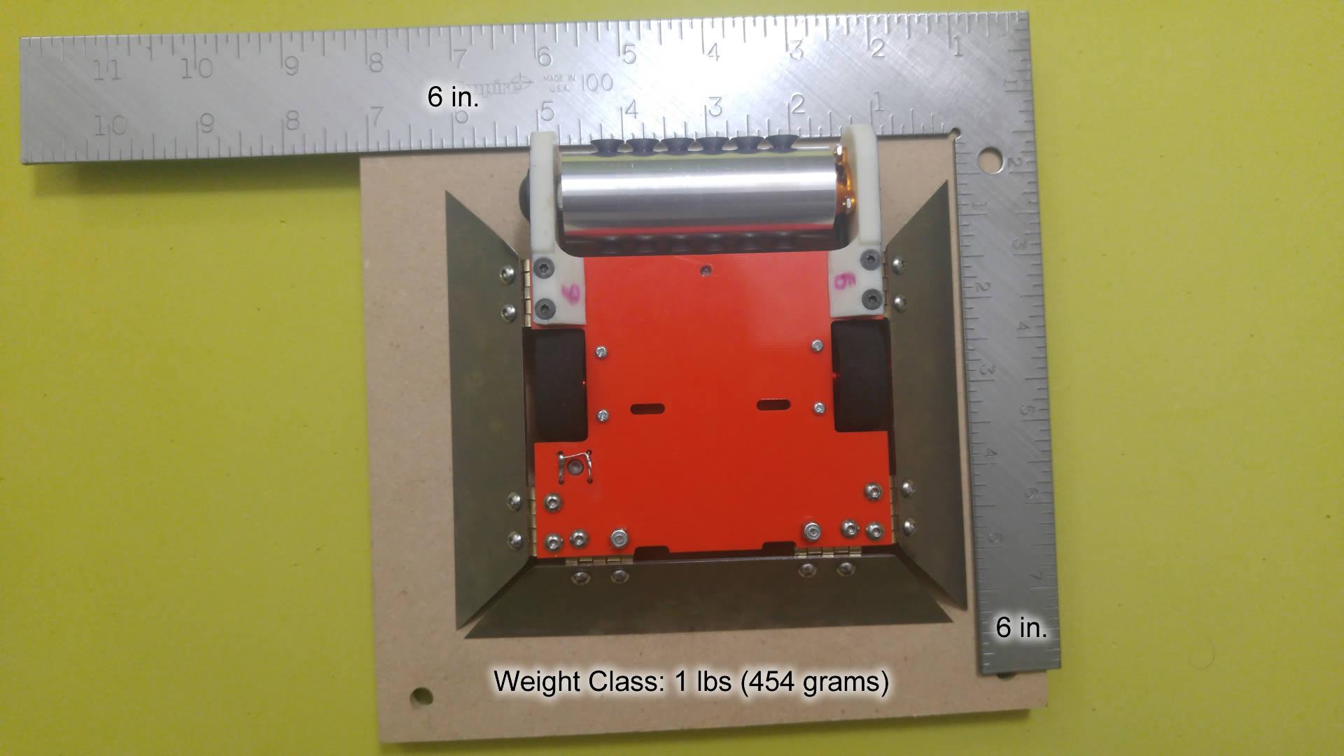 Shrapnelly – 1 lb Antweight Combat Robot | Eleccelerator