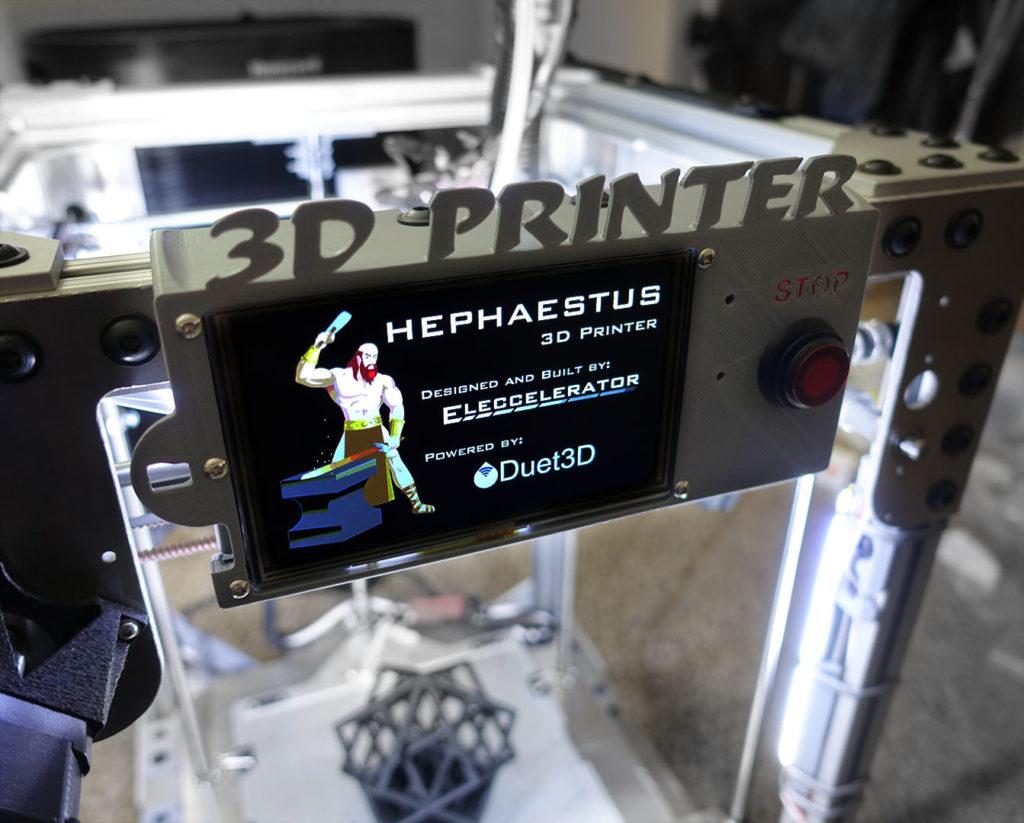 Hephaestus, my own 3D printer | Eleccelerator